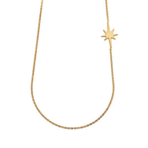 Necklace star gold LEONE jewelry