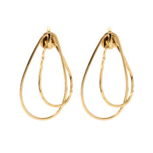 Golddouble hoops earrings