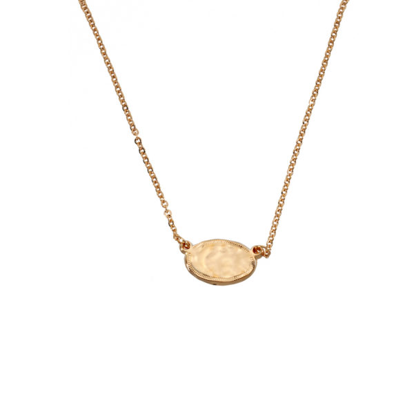 Necklace mini coin gold gold